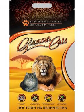 Комкующийся наполнитель Glamour Cats (5кг)