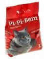 Комкующийся наполнитель Pi-Pi-Bent Classik для кошачьего туалета, лам пак (3кг)