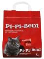 Комкующийся наполнитель Pi-Pi-Bent Classik для кошачьего туалета, лам пак (5кг)