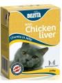 Консервы Bozita Feline Chicken liver мясные кусочки в желе с  куриной печенью (370 гр)