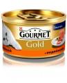 Консервы для кошек Gourmet Gold паштет Индейка 85гр