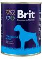 Консервы для собак Brit beef&rice говядина и рис (850гр)