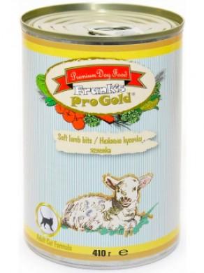 Консервы Frank's ProGold Soft lamb bits Adult Cat Recipe для кошек Нежные кусочки ягненка (410гр)