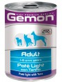 Консервы Gemon Dog Light для собак облегченный паштет тунец 400 г
