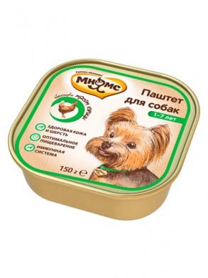 Консервы Мнямс с курицей для взрослых собак