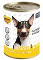 Консервы Мнямс Кусочки в соусе с говядиной и печенью для собак всех пород «ЗДОРОВЫЕ СУСТАВЫ» 400 г
