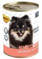 Консервы Мнямс Кусочки в соусе с ягненком для собак всех пород КРАСИВАЯ ШЕРСТЬ 400 г