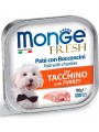 Консервы Monge Dog Fresh для собак индейка (100 г)