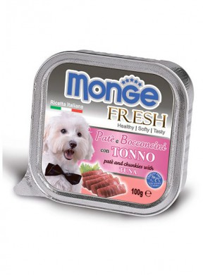 Консервы Monge Dog Fresh для собак тунец (100 г)