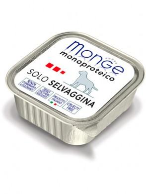 Консервы Monge Dog Monoproteico Solo для собак паштет из дичи (150 г)