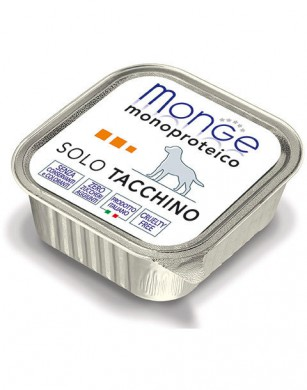 Консервы Monge Dog Monoproteico Solo для собак паштет из индейки (150 г)
