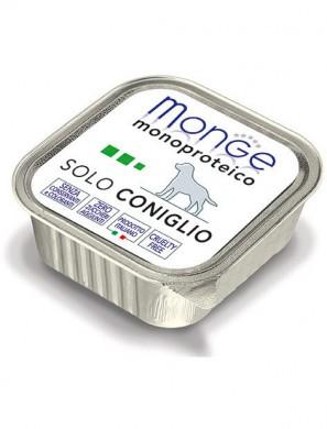 Консервы Monge Dog Monoproteico Solo для собак паштет из кролика (150 г)