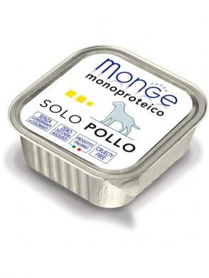 Консервы Monge Dog Monoproteico Solo для собак паштет из курицы (150г)