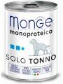 Консервы Monge Dog Monoproteico Solo для собак паштет из тунца (400 г)