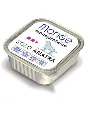 Консервы Monge Dog Monoproteico Solo для собак паштет из утки (150 г)