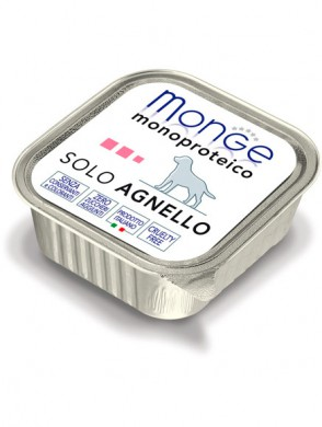 Консервы Monge Dog Monoproteico Solo для собак паштет из ягненка (150 г)