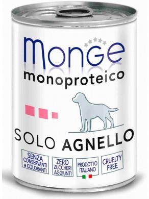 Консервы Monge Dog Monoproteico Solo для собак паштет из ягненка (400 г)