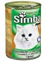 """Консервы Simba для кошек """"кусочки с дичью"""" (24шт/уп  по 415 гр)"""