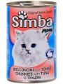"""Консервы Simba для кошек """"кусочки с тунцом"""" (24шт/уп  по 415 гр)"""