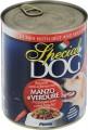 Консервы Special Dog для собак кусочки говядины с овощами 820 г