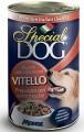 Консервы Special Dog для собак кусочки телятины 400 г