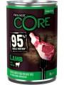 Консервы Wellness Core 95 для взрослых собак из ягненка с тыквой 400 г