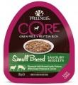 Консервы Wellness Core Savoury Medleys Small Breed из баранины с олениной, белым сладким картофелем и морковью для собак мелких пород 85 г