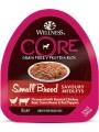 Консервы Wellness Core Savoury Medleys Small Breed из курицы с говядиной, зеленой фасолью и красным перцем для собак мелких пород 85 г