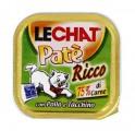 Консервы Lechat для кошек курица/индейка 100 г