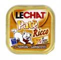 Консервы Lechat для кошек лосось/креветки 100 г