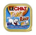 Консервы Lechat для кошек тунец/океаническая рыба/рис 100 г