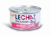 Консервы Lechat mousse для кошек говядина печень 85 г