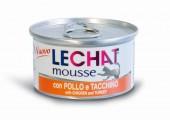 Консервы Lechat mousse для кошек курица индейка 85 г