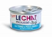 Консервы Lechat mousse для кошек тунец/океаническая рыба 85 г