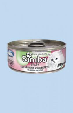 Консервы Simba Cat Mousse для кошек лосось/креветки 85 г