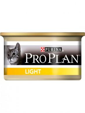 Консервы Pro Plan Light для кошек с избыточным весом (85г*24шт)