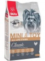 Корм Blitz Adult Mini &Toy для собак мелких пород с курицей