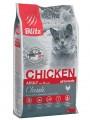 Корм Blitz Classic Chicken Adult Cats All Breeds для взрослых кошек с курицей