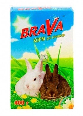 Корм Брава для кроликов 400гр