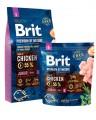 Корм Brit Premium Junior S для щенков мелких пород