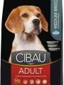 Корм Cibau Adult Medium для взрослых собак средних пород (12кг)