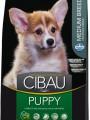 Корм Cibau Puppy Medium для щенков средних пород