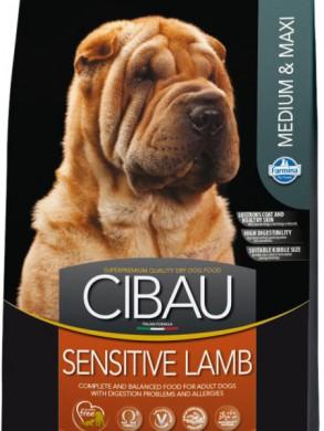 Корм Cibau Sensitive Lamb Medium & Maxi (12кг)