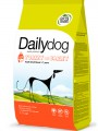 Корм Dailydog Adult Small Breed для собак мелких пород с индейкой и ячменем (12кг)