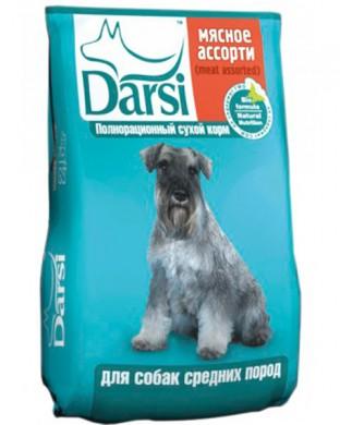 Корм Darsi для собак средних пород (2,5кг)