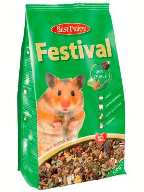 Корм для хомяков Festival (500гр)