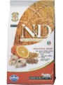 Корм для кошек Farmina N&D Cat Low Grain Codfish&Orange Adult с треской и апельсином