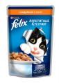 Корм для кошек Felix Аппетитные кусочки с индейкой в желе (85гр)