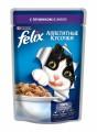 Корм для кошек Felix Аппетитные кусочки с ягненком в желе (85гр)