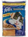 Корм для кошек Felix Sensations с курицей в желе с морковкой (85гр)
